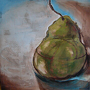 Still life_ with pear